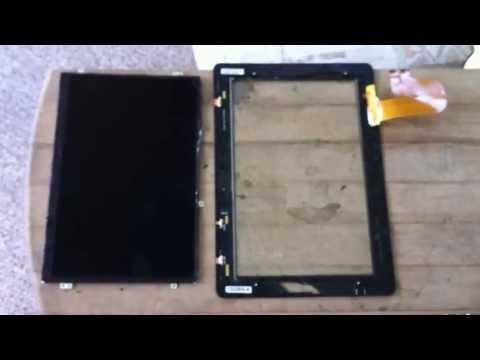 ASUS Transformer Tablet Repair (DO NOT) – TF201 Eee Pad Prime Digitizer LCD Screen Replacement