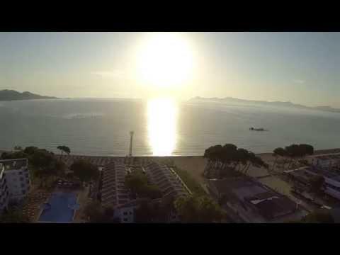 DJI Phantom Mallorca Playa de Muro Hd Fatshark2014