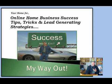 Online home Business Ideas, My Way Out, Can Be Yours. JosephDiego DiiaMante