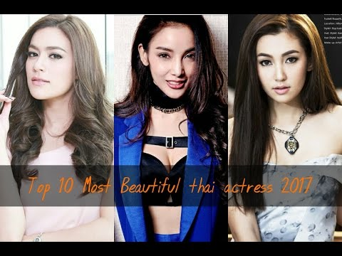 Top 10 Most Beautiful thai actress 2017:  This is not an official ranking This is as it were in view of the uploader's close to home conclusion.-----------------------Top 10 Most Beautiful thai actress 2017http://ascendents.net/?v=VSO23UnicP4-----------------------Top 10 Most Beautiful thai actress 20171.Chalida Vijitvongthong2.bella ranee3.Mew Nittha Jirayungyurn4.Yaya Urassaya5.Kimberly Ann Voltemas6.Min Peechaya Wattanamontree 7.Davika Hoorne8.chompoo araya9.matt peranee kongthai 10.Napapa Thantrakul-----------------------Thanks for watching!Leave a comment Likes And SharesSubscribe! If you Like This Channel!-----------------------