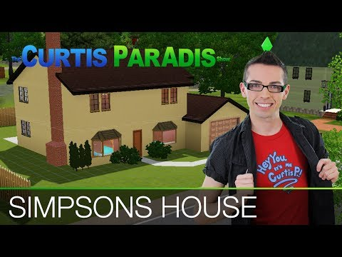 Building the Simpsons House in the Sims 3
