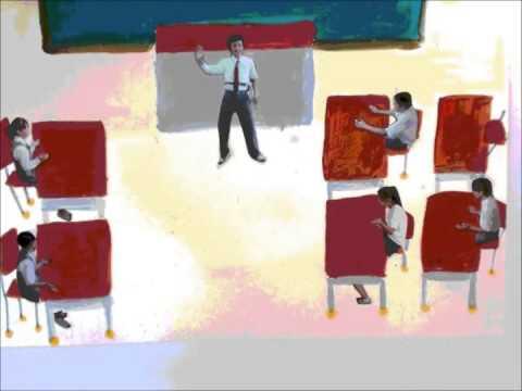 広島市立美鈴が丘中学校美術部制作「身近な平和」