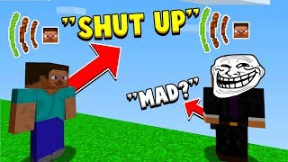 Trolling In Minecraft But With In Game VOICE CHAT!
