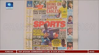 Ndidi, Iheanacho Fit For Arsenal Clash  Sports This Morning 