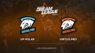 Virtus.Pro vs VP.Polar, game 1