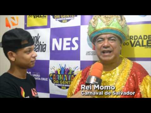 Carnaval 2016 - Entrevista com o Rei Momo do Nordeste de Amaralina