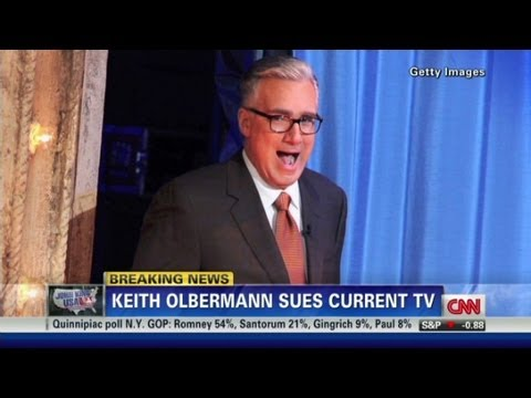 Olbermann fired - CNN's Susan Candiotti explains Keith Olbermann's lawsuit against Current TV.