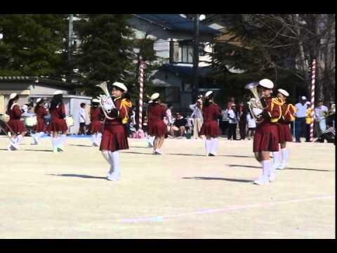 尾張旭市立東栄小学校ファンファーレバンド 2014-10-19