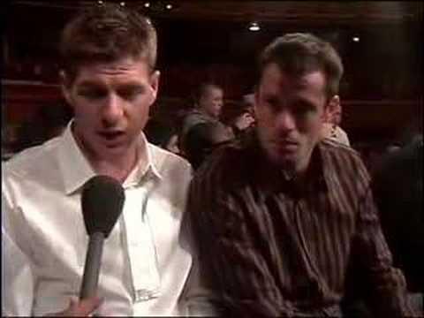 Entrevista a Carragher y Gerrard