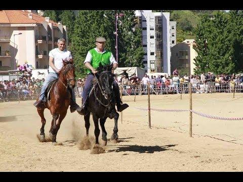 Corridas na Feira de Santa Cruz - Lamego - 3 de Maio - Vídeo