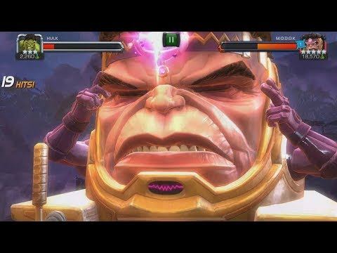 MODOK - All Abilities & Special Attacks - Marvel Contest Of Champions