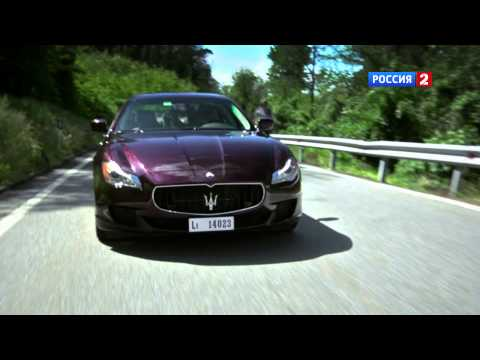 Maserati Quattroporte S Q4 Тест-драйв Maserati Quattroporte S 2014 // АвтоВести 10