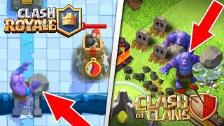 Video 6 Clash of Clans Troops that are Different in Clash Royale! | Clash of Clans Vs. Clash Royale MP3, 3GP, MP4, WEBM, AVI, FLV Agustus 2017