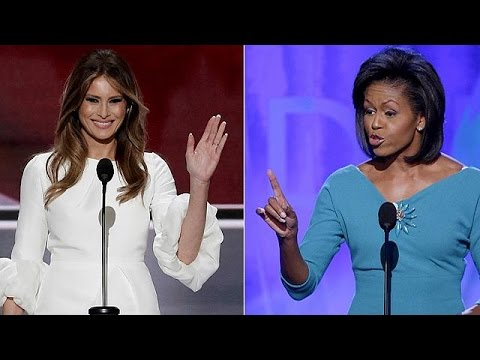 Λέξη προς λέξη αντέγραψε ομιλία της Μισέλ Ομπάμα η Μελάνια Τραμπ