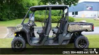 9. 2016 Can-Am Defender MAX XT HD10 Mossy Oak Break-up Count...