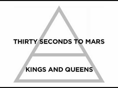 Thirty Seconds To Mars - Kings And Queens (Official Lyric Video)