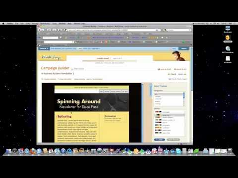 mailchimp - Here I show you how to create an email newsletter, create an auto responder, design your newsletter and Track what People do on your Newsletter. I prefer the...