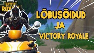 Lõbusõidud Ja Victory Royale! (Fortnite Battle Royale)
