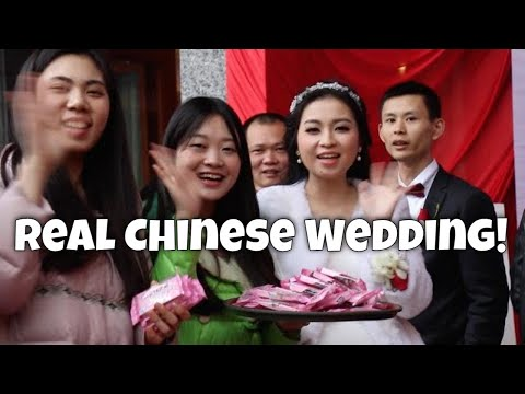 Real Chinese Wedding: Neijiang, China (видео)