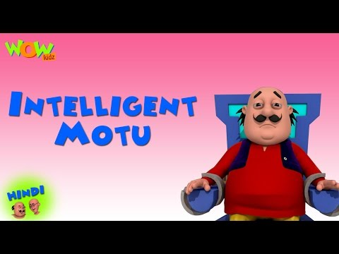 Intelligent Motu | Motu Patlu in Hindi WITH ENGLISH, SPANISH & FRENCH SUBTITLES | As seen on Nick