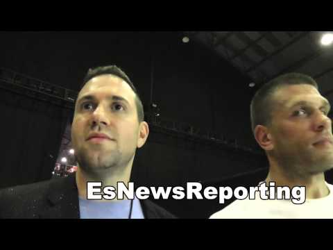Ukranian boxing star SERGEY DEREVYANCHENKO wins big in LA EsNews