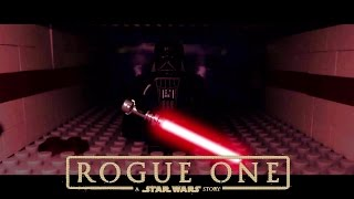 LEGO Rogue One:  Darth Vader Ending Scene... [Frame by Frame]...