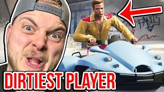 THE DIRTIEST PLAYER IN GTA V!! - GTA V FUNNY MOMENTS!! #4