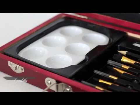 Maleta de Aquarela para Iniciantes Royal & Langnickel 24 peças - RSET-WAT3000