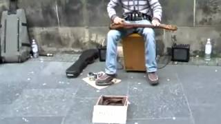 This Street Musician Is Insanely Good At Playing Multiple Instruments At The Same Time!