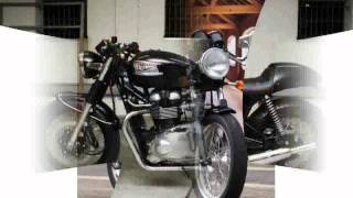 2. 2009 Triumph Thruxton 900 Features & Details