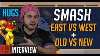HugS on East vs West Coast Rivalry, Old vs New, and His Ideal Smash Coach | SSBM Esports Interview