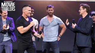 Video Avengers: Infinity War | Meet The Cast with Robert Downey Jr. & Josh Brolin MP3, 3GP, MP4, WEBM, AVI, FLV Juni 2018