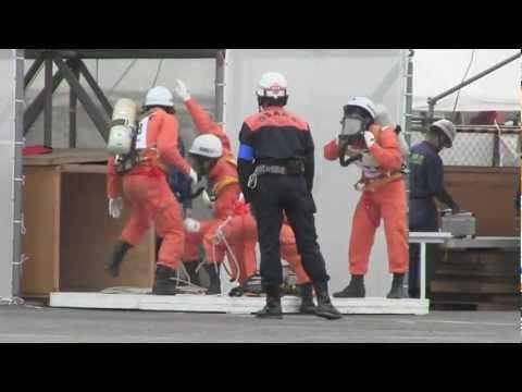2012年全国消防救助技術大会 陸上の部競技