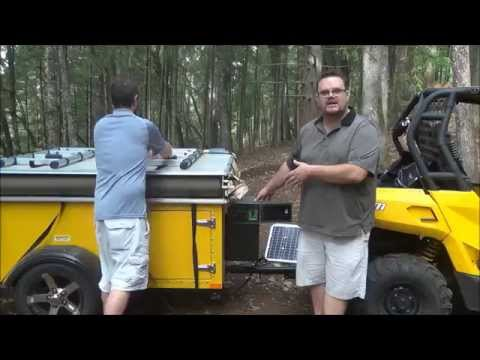 The 2015 Journey XL Solar Powered Tent Trailer – Part 2 – Solar Generator