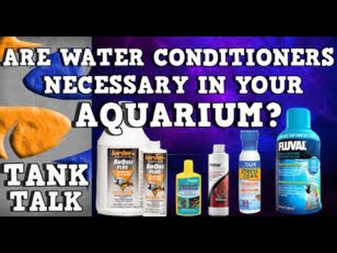 Are Water Conditioners necessary for your aquarium? \