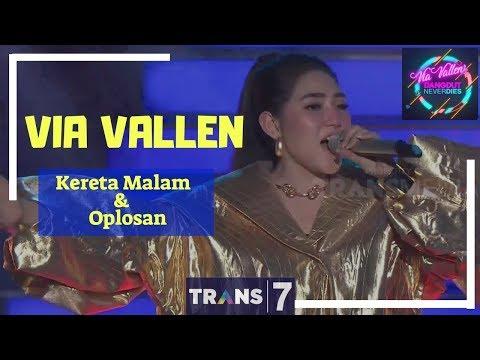 Video KERETA MALAM & OPLOSAN - VIA VALLEN  ['VIA VALLEN' DANGDUT NEVER DIES (01/05/18)] download in MP3, 3GP, MP4, WEBM, AVI, FLV January 2017