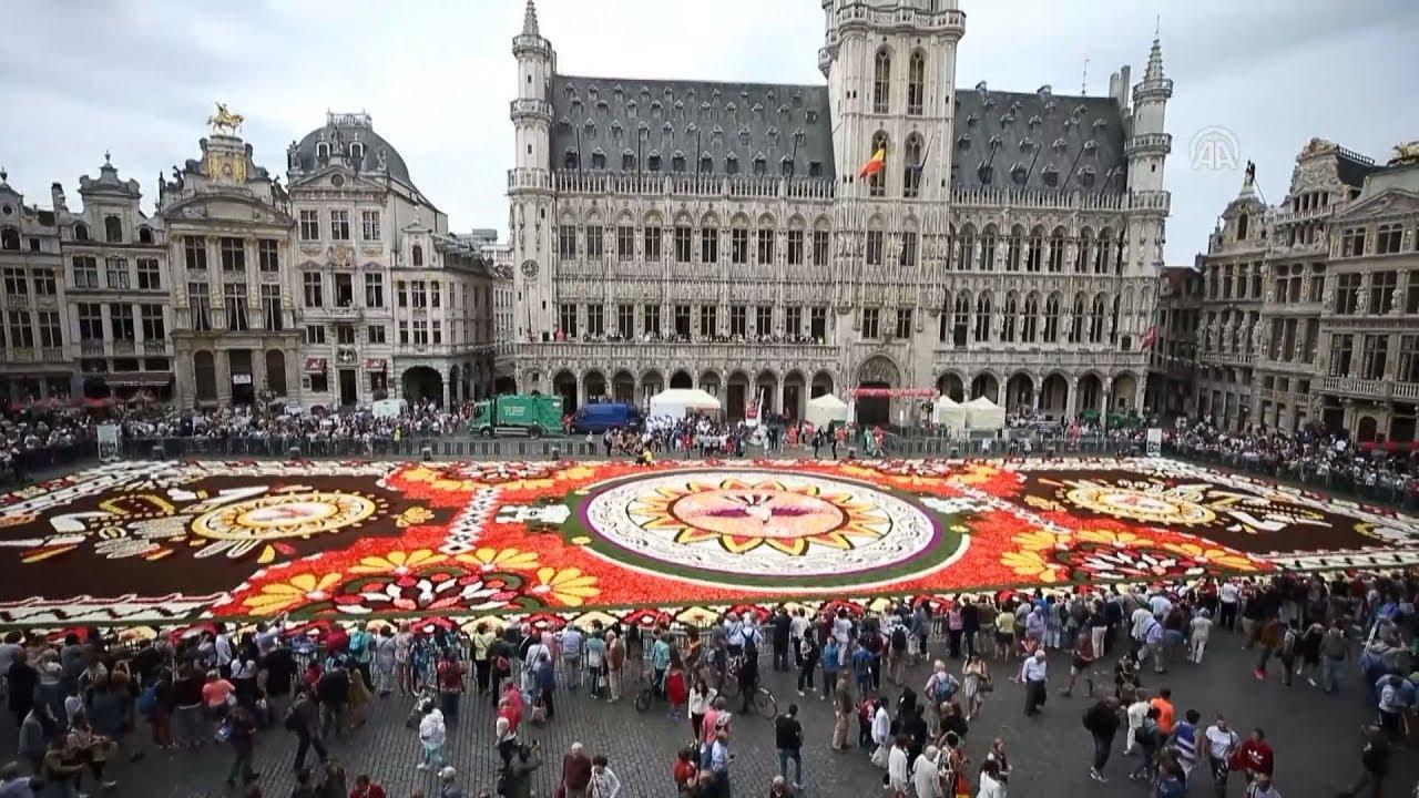 Βέλγιο: Ένα χαλί από  λουλούδια