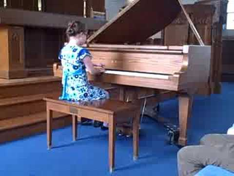 Watch video Down Syndrome Piano recital