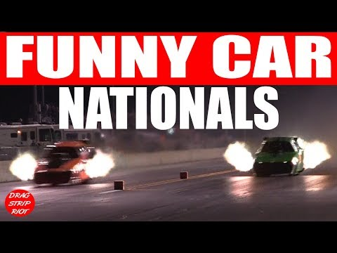 2017 Funny Car Nationals Nitro Drag Racing World's Fastest