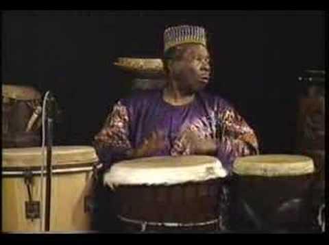 Babatunde African Drum Performance.