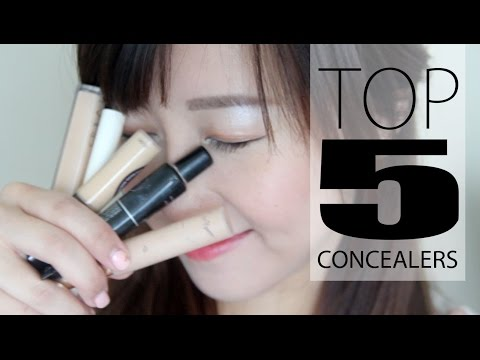 concealer - Hello lovelies!! In this video, I share my top 5 concealers with you all. As you guys know, I'm a concealer junkie. Concealers are the bomb. However, they ca...