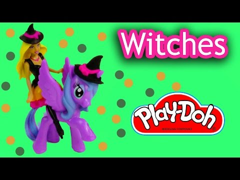 Little - SUBSCRIBE: http://www.youtube.com/channel/UCelMeixAOTs2OQAAi9wU8-g?sub_confirmation=1 Trick Or Treat mini Barbie doll is all dressed up in her witch costume. Now it's My Little Pony Princess...