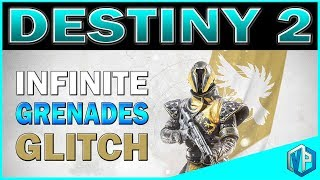 "Destiny 2 glitch for infinite grenades. Bungie messed up again! Destiny glitches, bungie glitch, Destiny 2 beta,Destiny 2 Giveaway: https://www.youtube.com/watch?v=SgAxriJwF9ISupport me on Patreon: https://www.patreon.com/vprivilege-SOCIAL MEDIAS-Subscribe To Join ""Privileged Ones"": https://www.youtube.com/channel/UC94y8WJThuyMH_uDie6c_CA?sub_confirmation=1Subscribe to DRAW with VPG Channel: https://www.youtube.com/channel/UCyUnAHFzbabRqcVYjjiQgUw?sub_confirmation=1Follow me on Twitter: https://twitter.com/VPrivilegeFollow me on Instagram: https://instagram.com/vprivilege/Follow me on Facebook: https://www.facebook.com/huhtrn/Watch me on Twitch: http://www.twitch.tv/huhtrnEmail: sixofthenine@gmail.com -SPONSORS- USE Code ""VPG"" to SAVE $$$ at checkout!CHEAPEST STEAM GAMES G2A: https://www.g2a.com/r/huhtrnRazer: https://www.razerzone.com/store Kontrol Freeks: https://www.kontrolfreek.com/rewardsref/index/refer/id/689737/Violent Privilege Gaming Apparel: https://shop.spreadshirt.com/vprivilegeBluvos Energy: https://www.bluvos.com/ref/VPrivilege/"