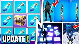*NEW* Fortnite Update! | Mini Shield Change, More Players BANNED, ALTER Storyline!