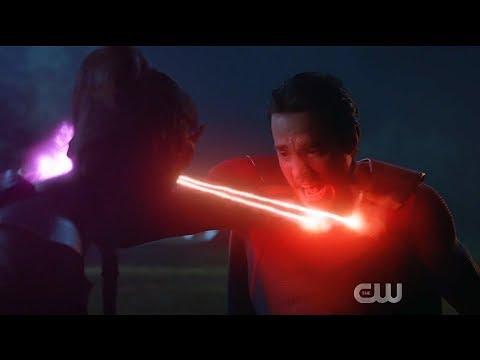 Supergirl 5x13 Reign kills Lena and Monel (Alternate Timeline)