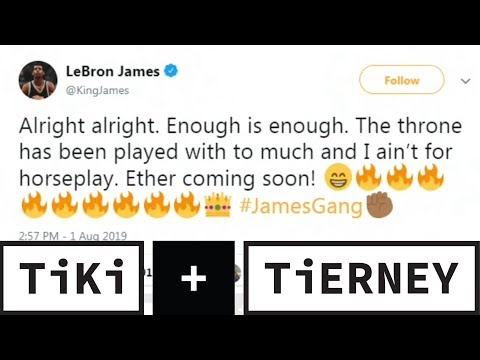 Video: Does LeBron James Even Care About The David Griffin Situation? | Tiki + Tierney