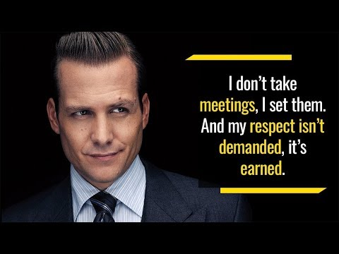 Famous quotes - 10 Motivational Quotes By Harvey Specter From Suits
