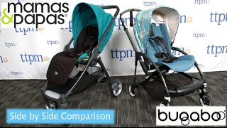Side by Side Compact Stroller Comparison: Armadillo Flip vs. Bugaboo Bee3