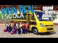GTA 5 Mods da VIDA REAL - Pegando as Crianças para Levar a Escola