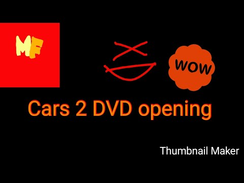 Opening To Cars 2 2011 Bluray